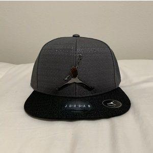 Nike Air Jordan Youth Snapback Hat Cap Gray 23 New
